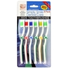 6-Pack Children'S Toothbrushes Soccer Theme