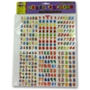 Letters And Numbers Stickers