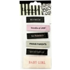 Baby Girl Woven Labels