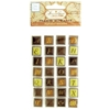 Browns Self-Adhesive Framed Alphabet