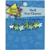 9-Pack Shell Star Charms