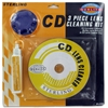3-Piece Cd Cleaning Kits
