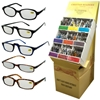 Display Of Reading Glasses - Light Tint