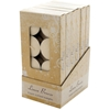 Scented Tea Lights - Linen Breeze Counter Top Display