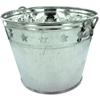 Tin Bucket With Stars