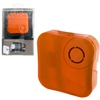 Orange X-Sticker Vibration Speaker