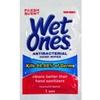 Wet Ones Singles Antibacterial Cleansing Wipes