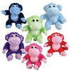 "8"" Plush Toy Monkeys Assortment"