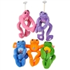 """12"""" Frog Plush Toy With Embroidered Butterfly"""