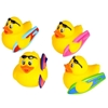"""2"""" Assorted Surfer Style Rubber Ducks"""