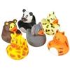 """2"""" Assorted Zoo Animal Rubber Ducks"""