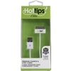 Hottips Elite 4' 30 Pin Usb Cable With Cord Minder- Carton Of 4