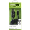 Hottips Micro Usb Glow Cable Blue- Carton Of 4