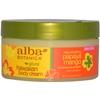 Unisex Alba Botanica Hawaiian Papaya Mango Rejuvenating Body Cream 6.5 Oz