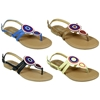 Women'S Circles Beaded Sandals
