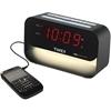 Timex - Decorative Xbbu Dual Alarm Clock With Usb Charging and Night Light