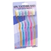 Toothbrushes With Curve Handle 6Pack
