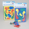 Puzzle 3D Foam 2 Pack 3 Assorted