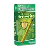 Dixon Ticonderoga Company No 2 Pencil,Triangular Shape,Beginner W/Eraser,36/Bx