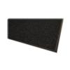 Genuine Joe Indoor Mat, Vinyl Backing, 3'X5', Charcoal