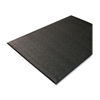 Genuine Joe Anti-Fatigue Mat, Nitrile Rubber/Vinyl, 3'X10', Black