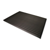 Genuine Joe Anti-Fatigue Mat, Vinyl Foam, Beveled Edge, 3'X12', Black