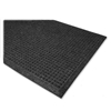 Genuine Joe Eternity Mats, 2'X3', Charcoal Gray