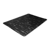 Genuine Joe Anti-Fatigue Mat, 3'X5', Black Marble