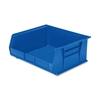 """Akro-Mils Bins, Unbreakable/Waterproof, 11""""X10-7/8""""X5"""", Blue"""