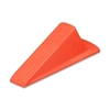 "Master Caster Company Giant Foot Doorstop, 3-1/2""X6-3/4""X2"", Safety Orange"
