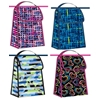 Foldable Printed Lunch Bag, 4 Assorted Designs