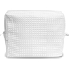 Tammy Waffle Weave Spa Bag - White