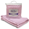 Mink Touch Baby Blanket- Soft Pink