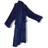 Mink Touch Luxury Robe - Navy