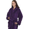 Unisex Tahoe Fleece Bathrobe - Purple