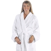 Unisex Tahoe Fleece Bathrobe - White