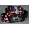 Unisex Obama Snap On Fashion Belt
