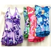 Women'S Floral Prints One Piece Swimming Suits Assorted