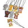 Wiggling Wild Animal Necklaces