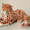 Plush Jumbo Realistic Leopard