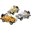 Pull Back Safari Vehicles