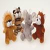 Plush Furry Wild Animals