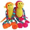 Neon Striped Leg Monkeys - 2 Piece