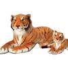 Plush Small Realistic Tiger