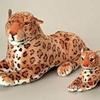 Plush Small Realistic Leopard