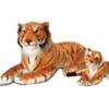 Plush Jumbo Realistic Tiger