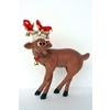 Funny Reindeer Standing On Crossed Legs