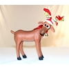 Funny Reindeer Standing On Four Legs