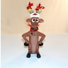 Funny Reindeer Standing With Hands On Hips