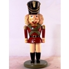 32In Tall Fiberglass And Polyresin Nutcracker With Hands At Side